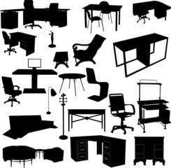 office elements - vector