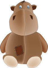 soft toy a kind hippopotamus