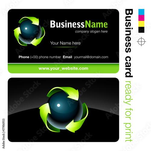 Carte De Visite Business Card