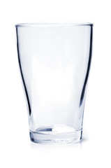 Empty drinking glass