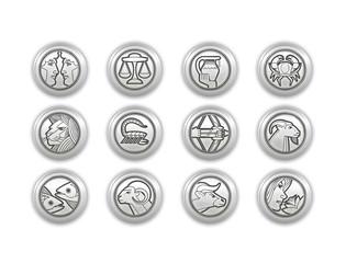 kollektion zodiac silber zeichen