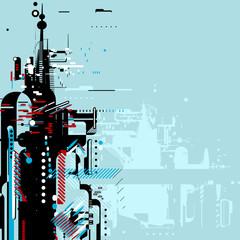 futurisctic background