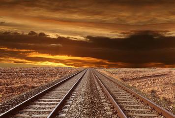 ferrovia nel deserto