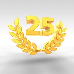 25 gold