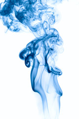 Abstract background of beautiful color smoke waves.