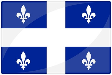 drapeau glassy quebec flag