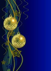 weihnachten,blaue hintergrund