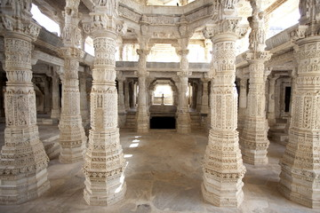 Wall Murals Place of worship adinath temple of ranakpur