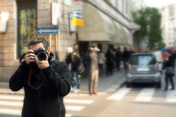 Paparazzo in città