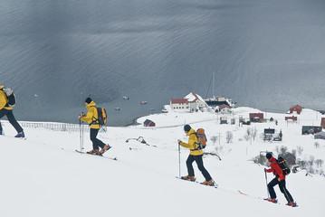 Skitouren am Polarkreis