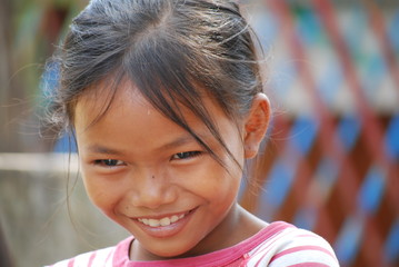 Young girl, Cambodia