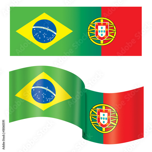 Bandeiras (Brasil e Portugal)
