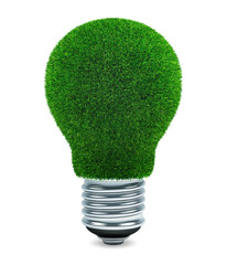Grass light bulb