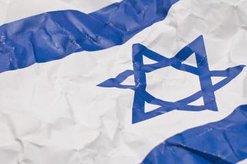 israel flag detail