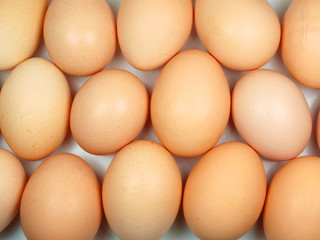 Eggs abstract background