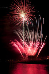 Feuerwerk am Mittelmeer