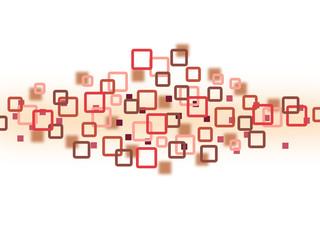 Viereck Hintergrund rot