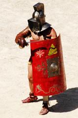 Spoed Foto op Canvas Ridders gladiators