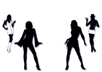Retro Party Girls