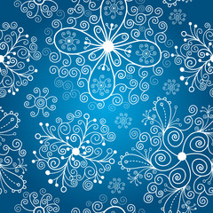 snowflakes, christmas background