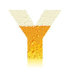 alphabet beer Y