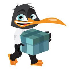 Pingouin cadeau