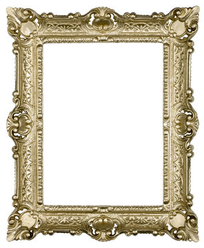 real golden plastic frame