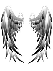 Angelwings Engelsflügel Tattoo Art 1
