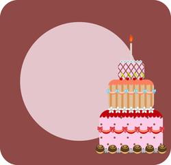 Vector cake