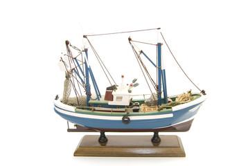 maqueta barco pesquero