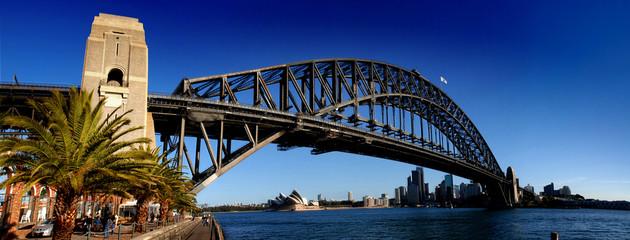Canvas Prints Sydney Sydney Harbour Bridge PanoramaColour