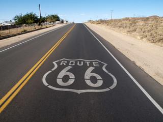 In de dag Route 66 Route 66 Hill