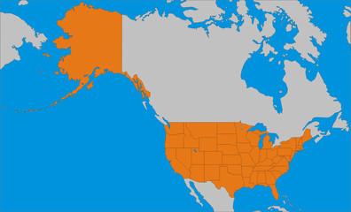 USA und Nordamerika