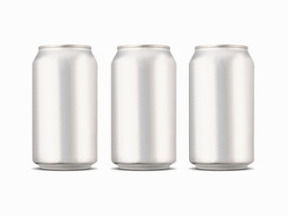 Soft drink aluminum cans