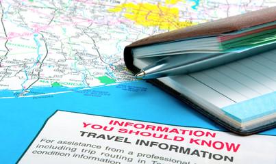 Impotant travel information