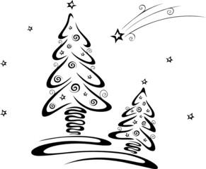 christmas tree, Weihnachten, Weihnachtsbaum, Winter