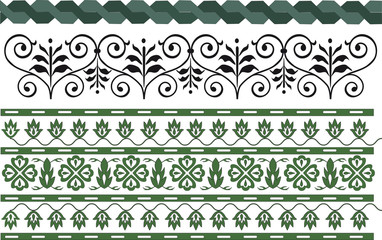 complete set of various patterns