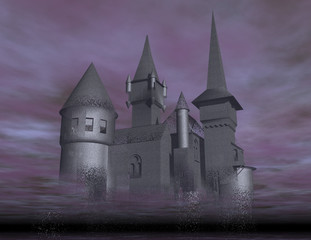 Papiers peints Dragons castle