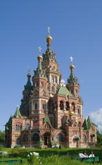 orthodox church at Peterhof
