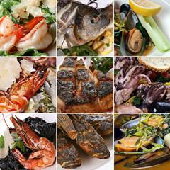 Seafood mix set
