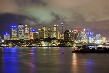 City Waverton Night