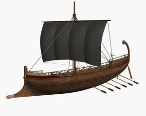 Ancient Greek Ship