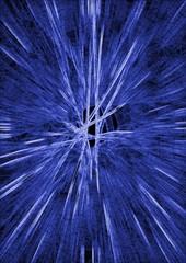 Hintergrund Blaue Strahlen