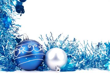 Christmas decoration--garland and ball