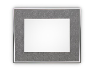 Luxury silver frame