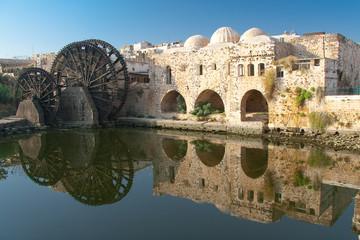 Reflejo en Hama, Siria