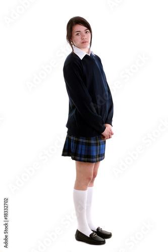 6b7713bf94 Mixed race schoolgirl in uniform