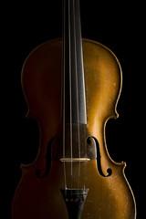 Korpus einer alten Geige