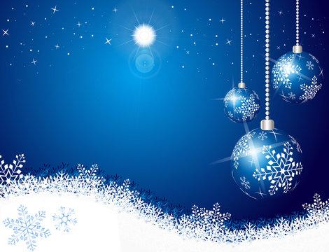 Christmas sky