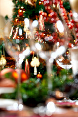 Blurred decoration
